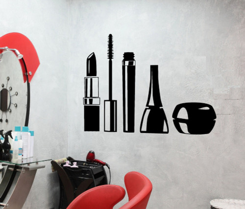 Removable wall decal. This design is made of quality vinyl and will look great in your home.  It measures 55x43cm.