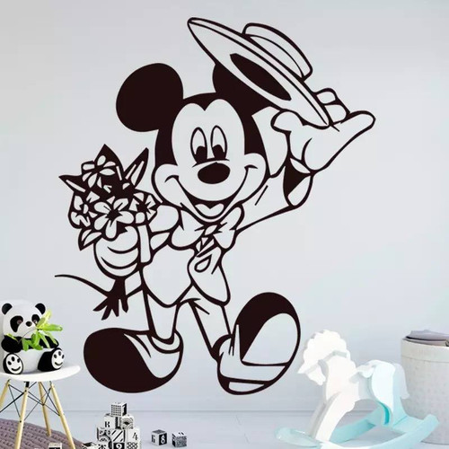 Removable wall decal. This design is made of quality vinyl and will look great in your home.  It measures 43x48cm.