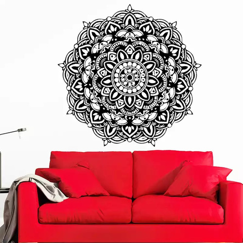 Removable wall decal. This design is made of quality vinyl and will look great in your home.  It measures 42x43cm.
