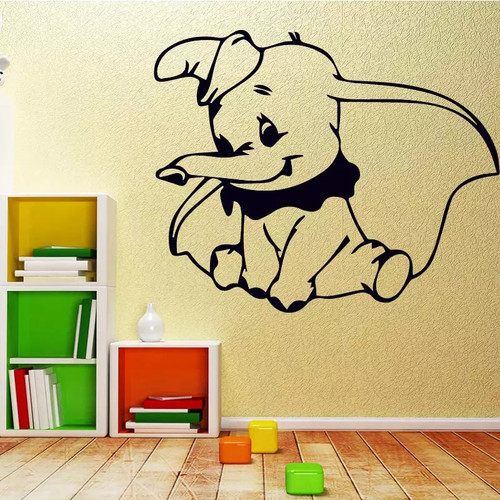 Removable wall decal. This cute design is made of quality vinyl and will look great in your home.  It measures 58x47cm.