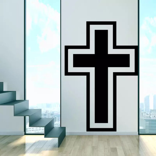 Removable wall decal. This design is made of quality vinyl and will look great in your home.  It measures 43x64cm.
