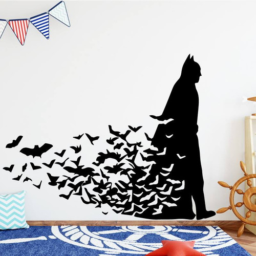 Removable wall decal.  This design is made of quality vinyl and will look great in your home.   It measures 58x45cm.