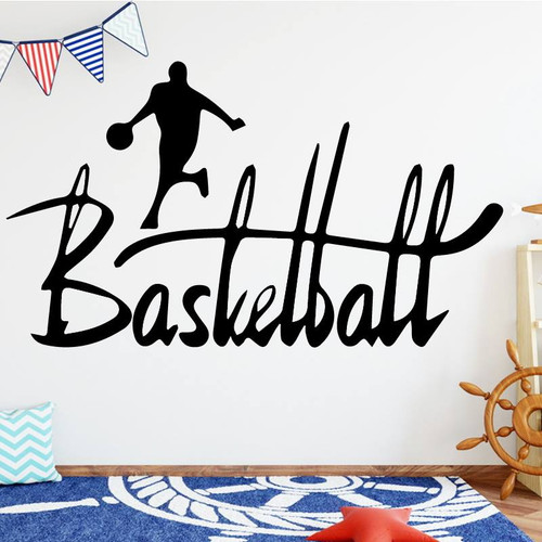 Removable wall decal.  This design is made of quality vinyl and will look great in your home.   It measures 58x33cm.