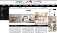 American retail-Furniture made in USA