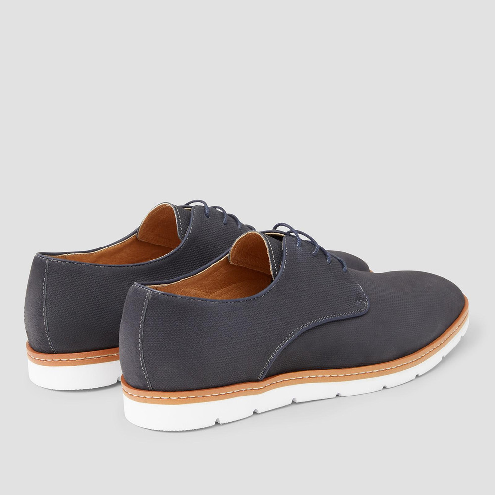 Jackman Navy Casual Shoes