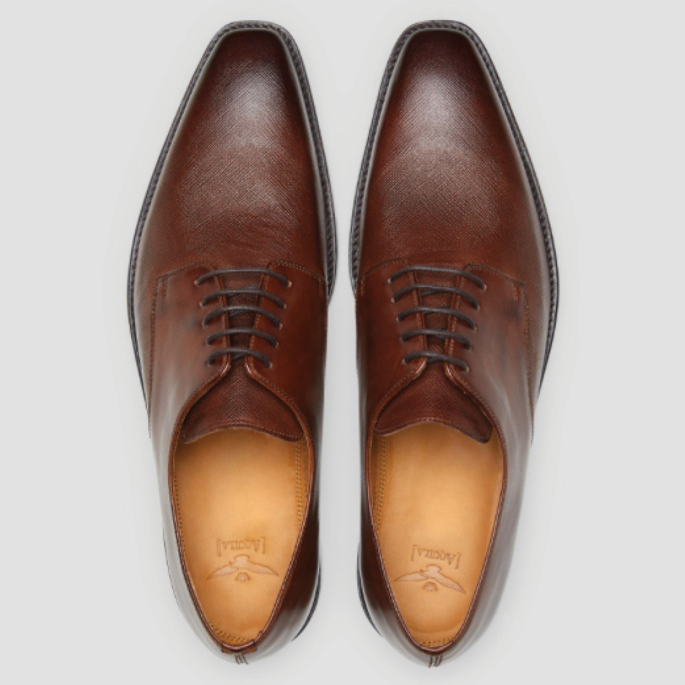 Klay Brown Lace Up Shoes