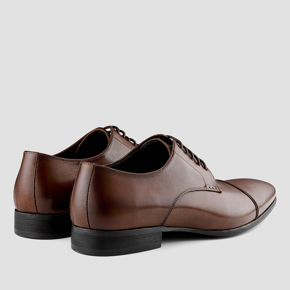 Loxley Tan Lace Up Shoes