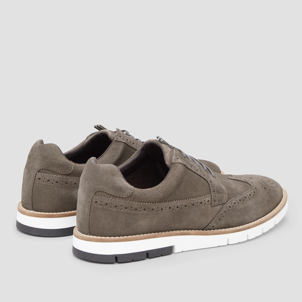 Saxon Olive Casual Shoes