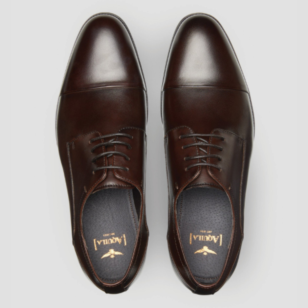 Gatwick Brown Derby Shoes