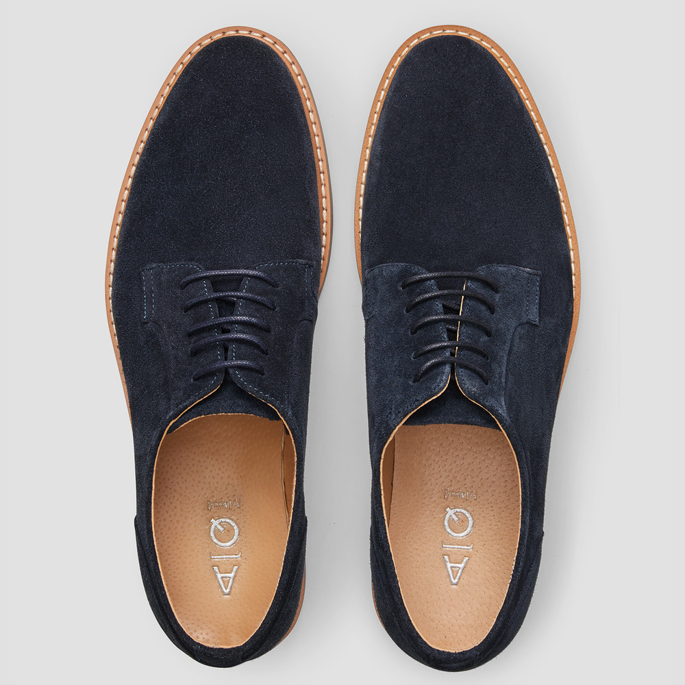 Kyoto Navy Casual Shoes