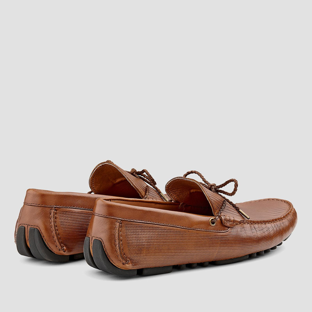 Oklahoma Brown Driving Shoes