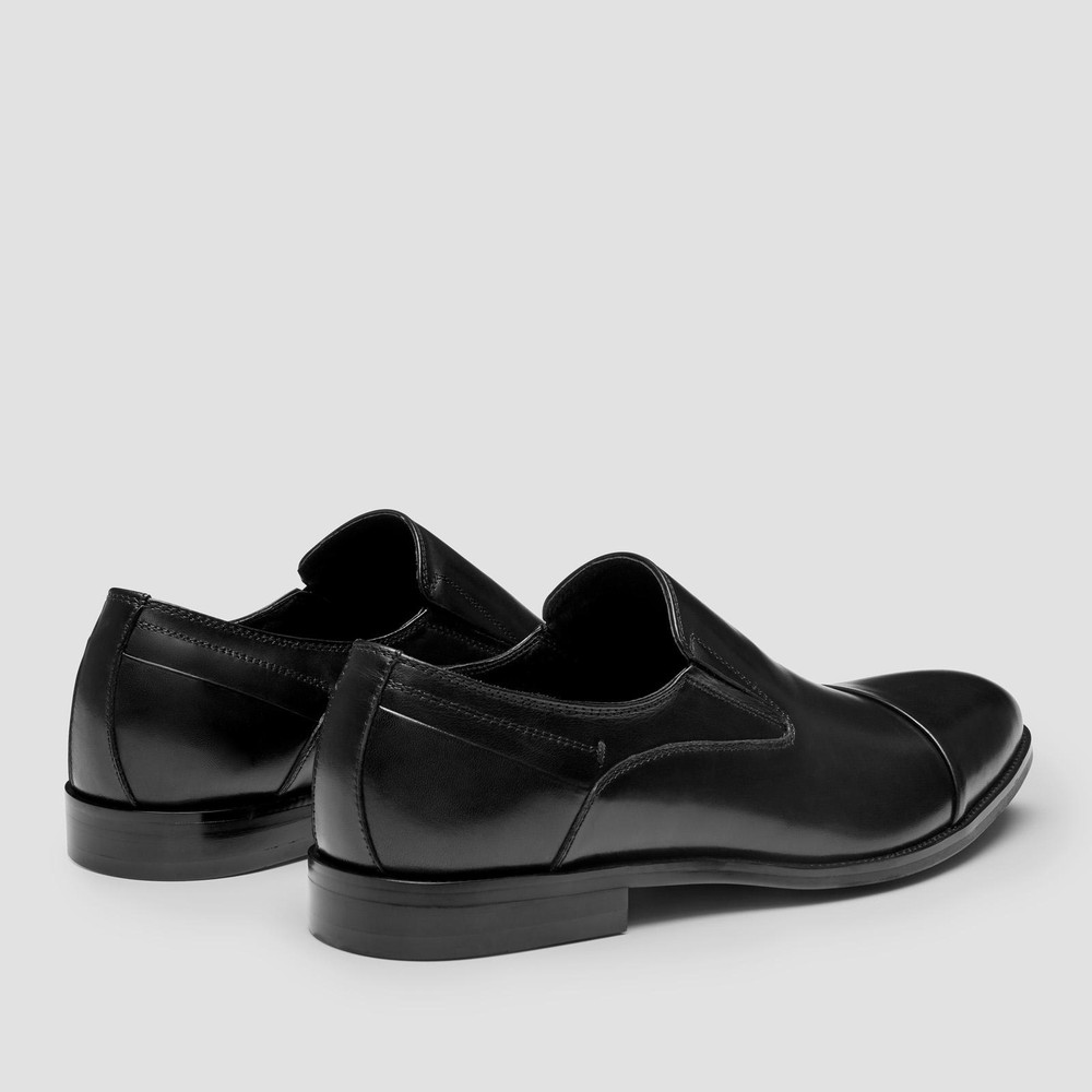 Stansted Black Loafers