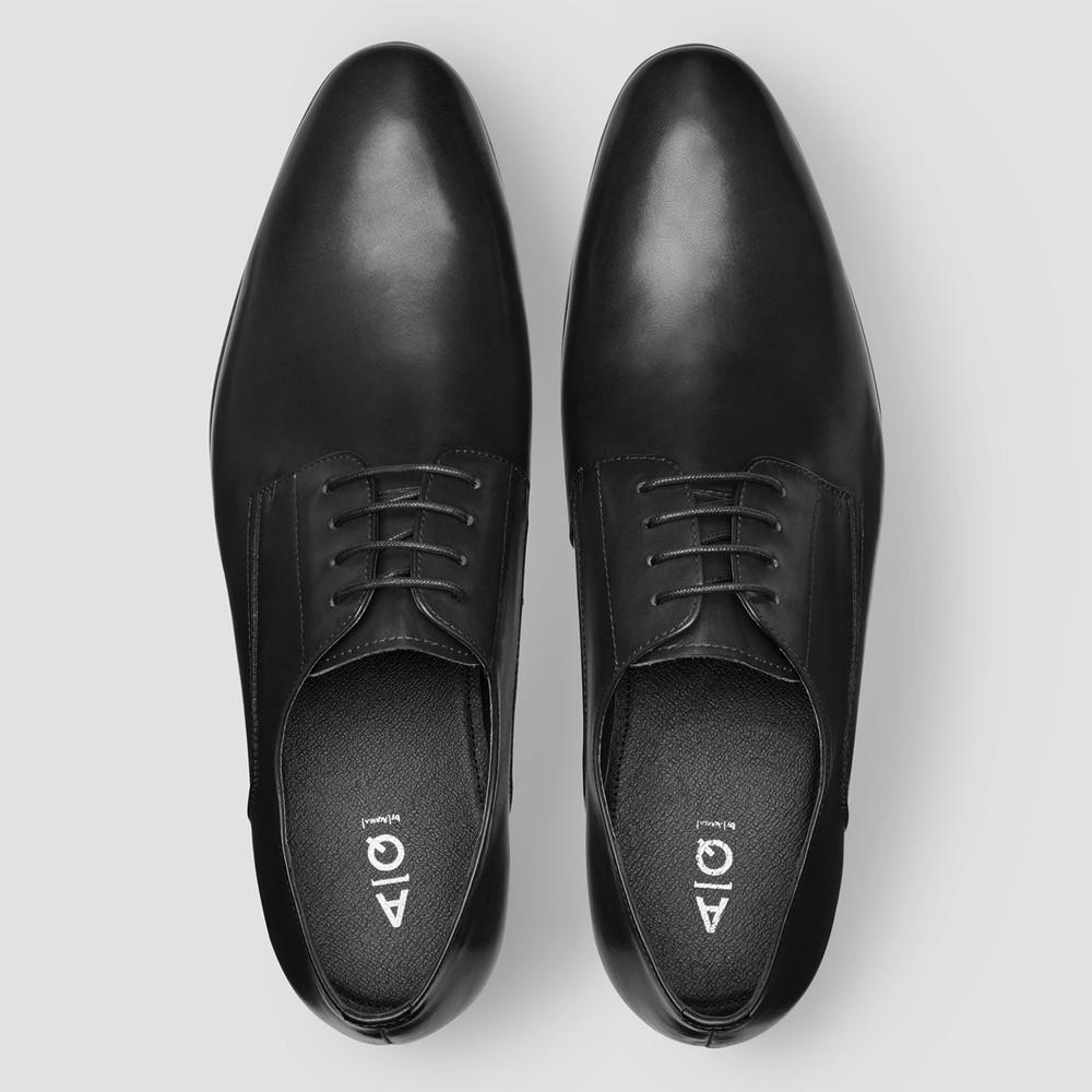Oslo Black Dress Shoes
