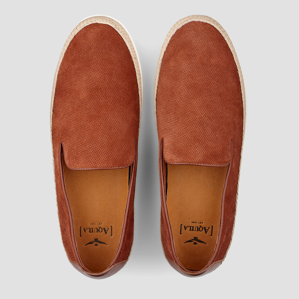 Osway Rust Casual Shoes