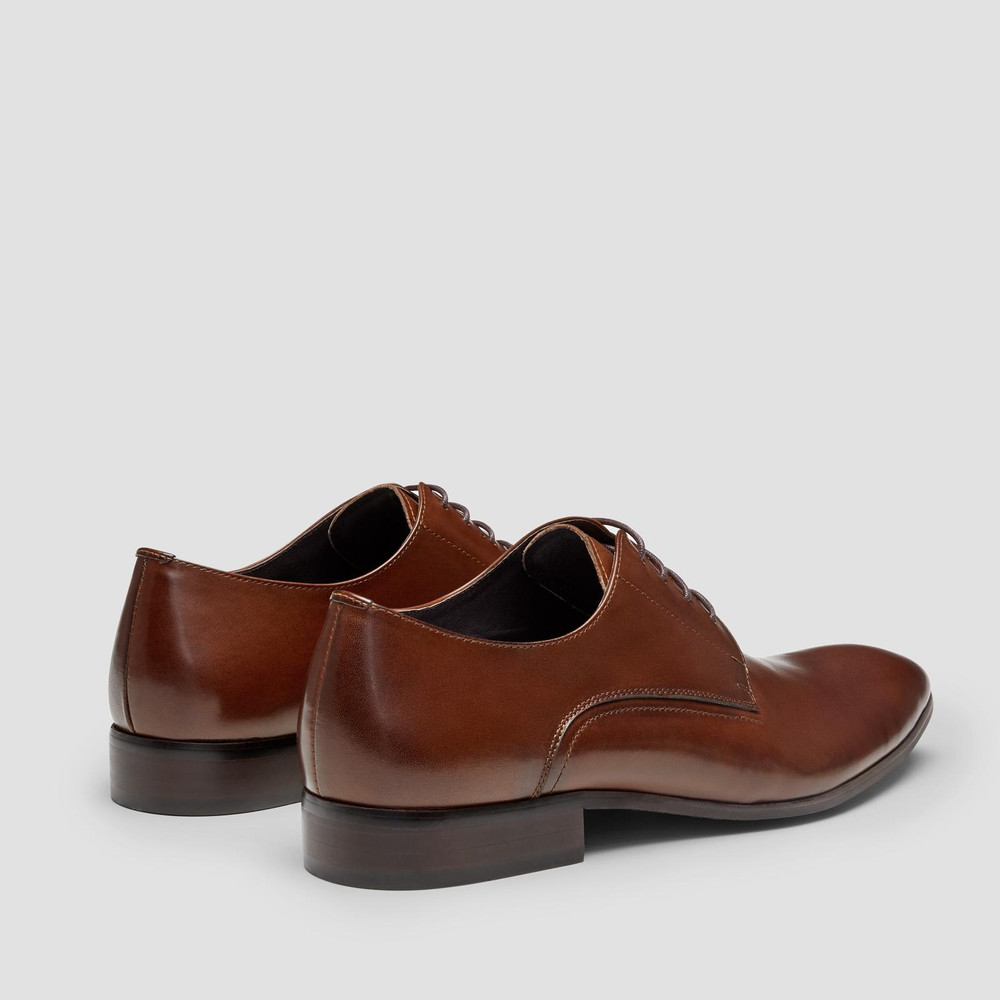 Oslo Tan Dress Shoes