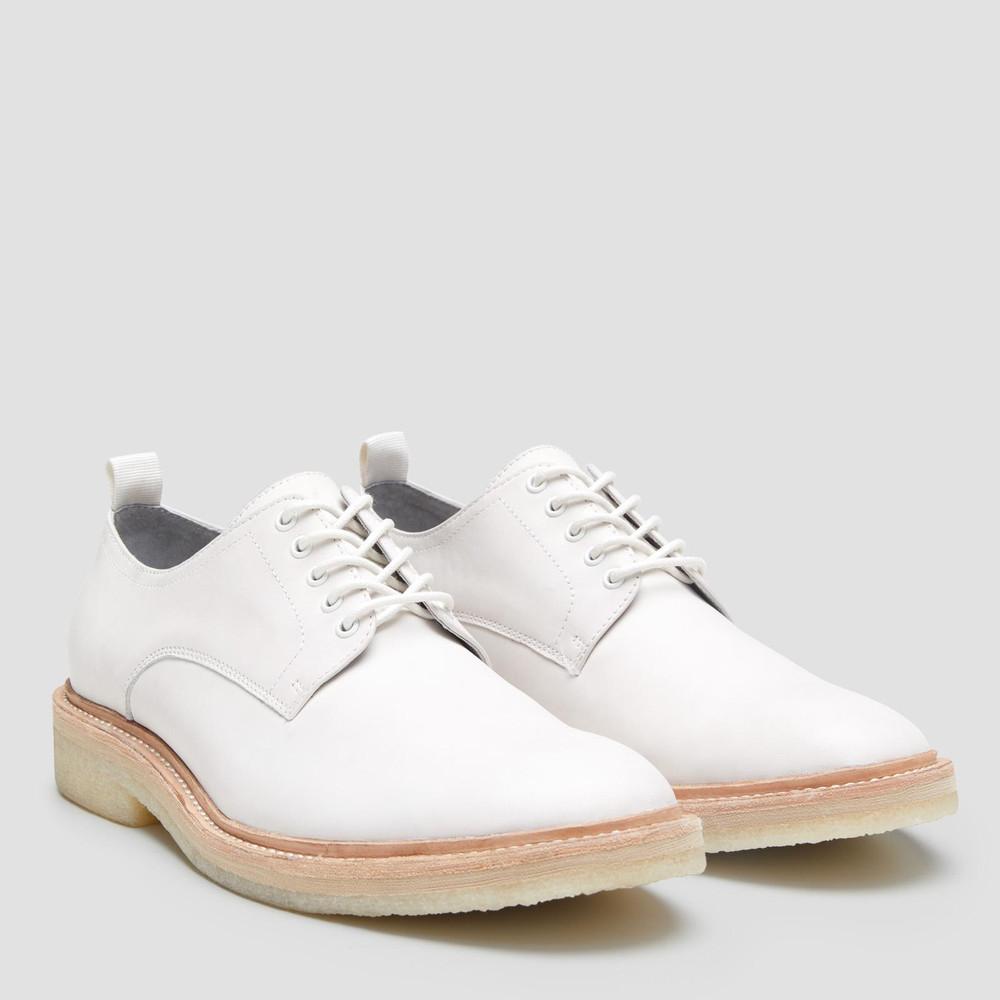 Jesper White Lace Up Shoes