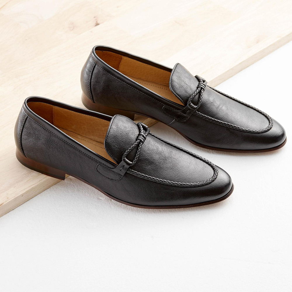 Jeeves Black Loafers
