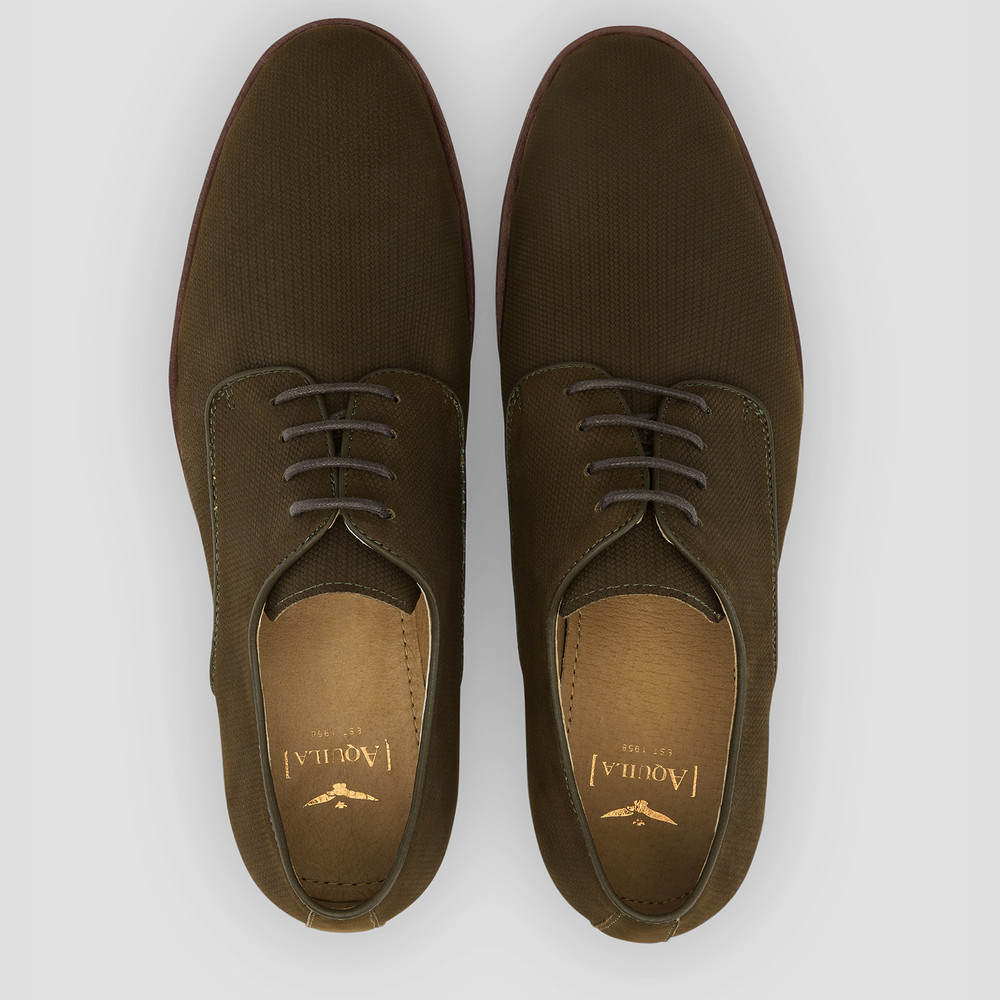 Jackman Olive Casual Shoes
