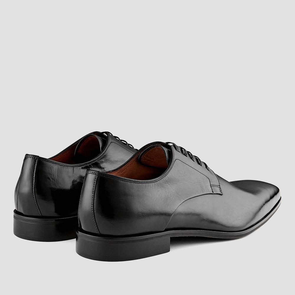Shelton Black Lace Up Shoes
