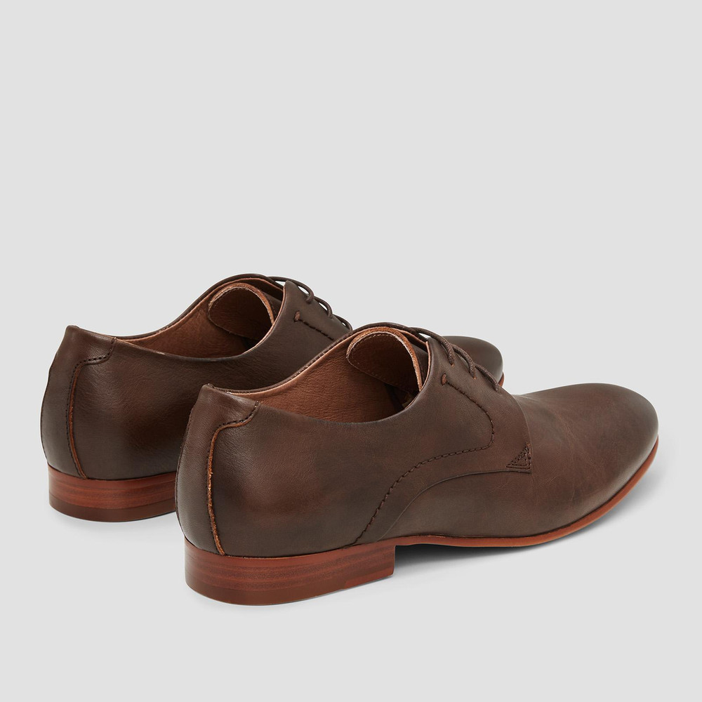 Selfton Brown Lace Up Shoes