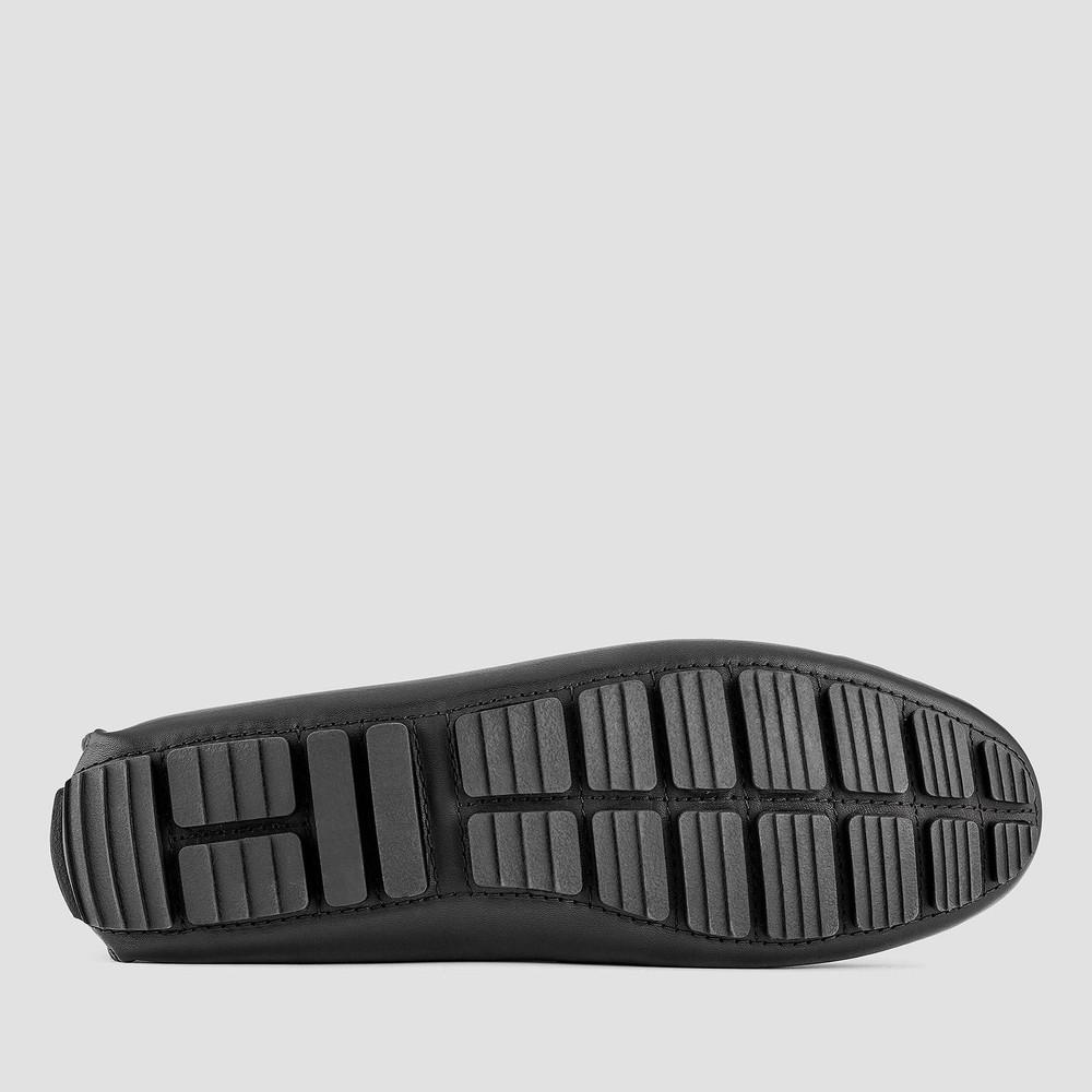 Monza Black Driving Shoes