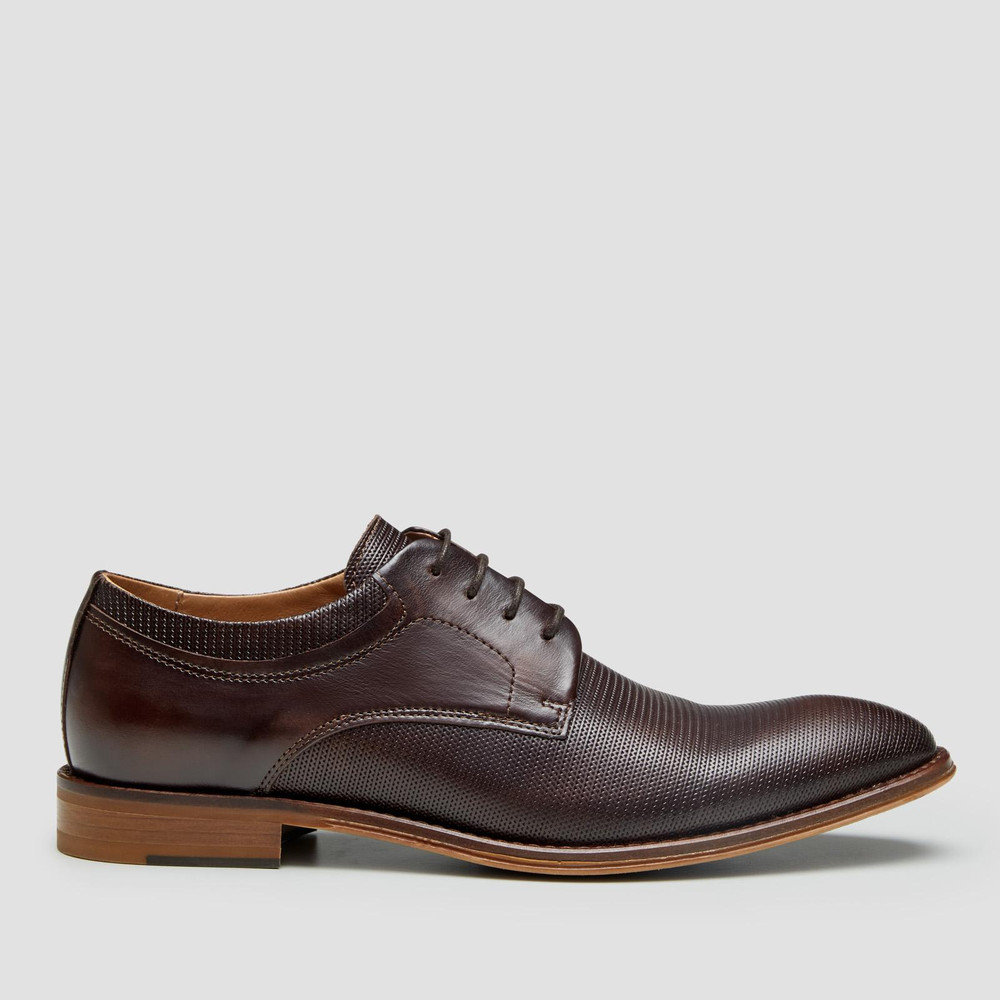 Rozier Brown Derby Shoes