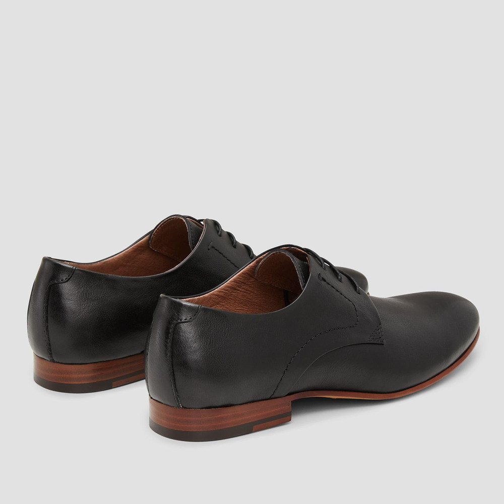 Selfton Black Lace Up Shoes