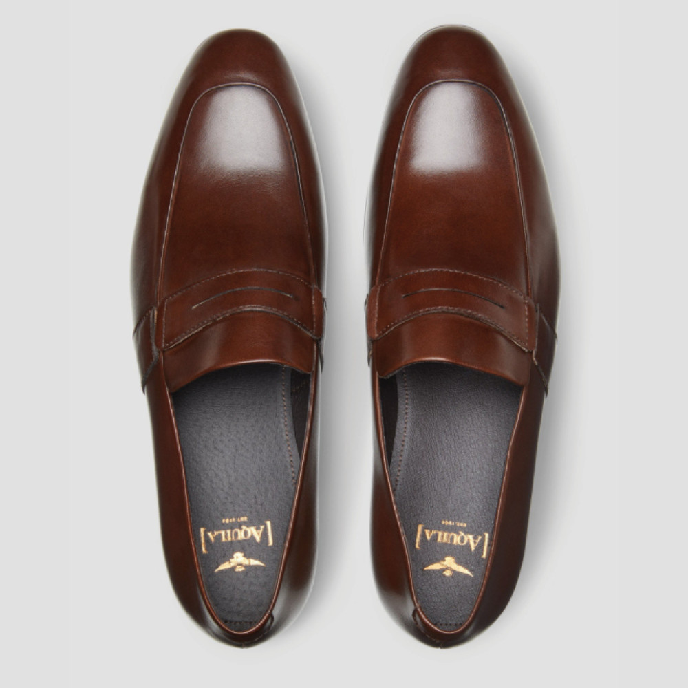 Wallace Tan Loafers