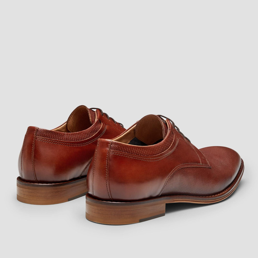 Rozier Tan Derby Shoes