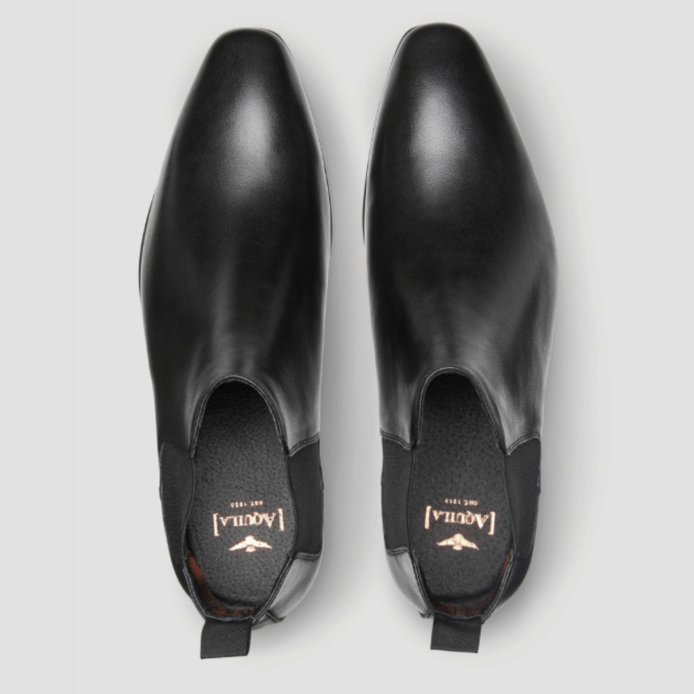 Walker Black Chelsea Boots