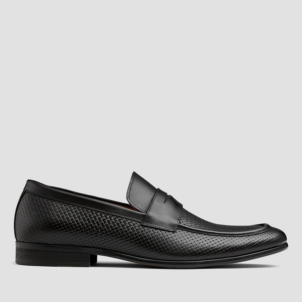 Bologna Black Loafers