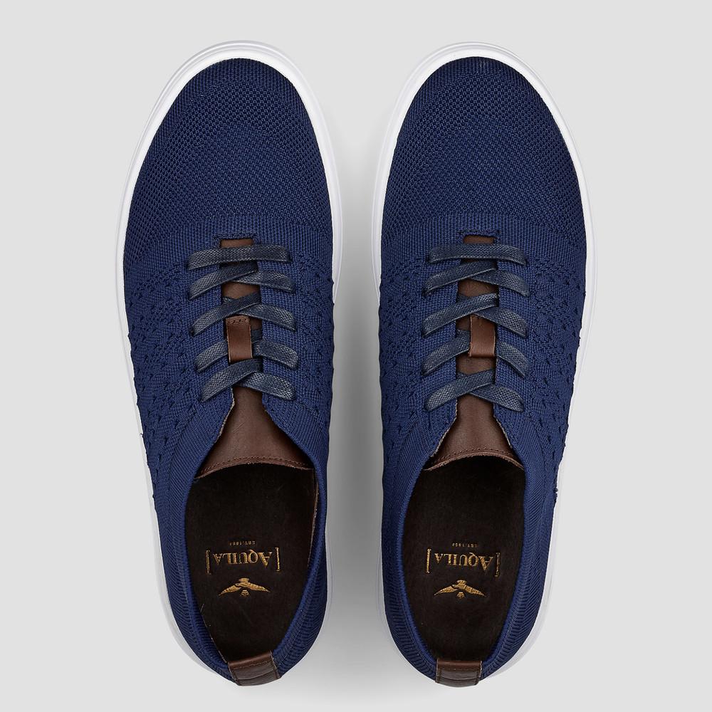 Hanks Navy Sneakers