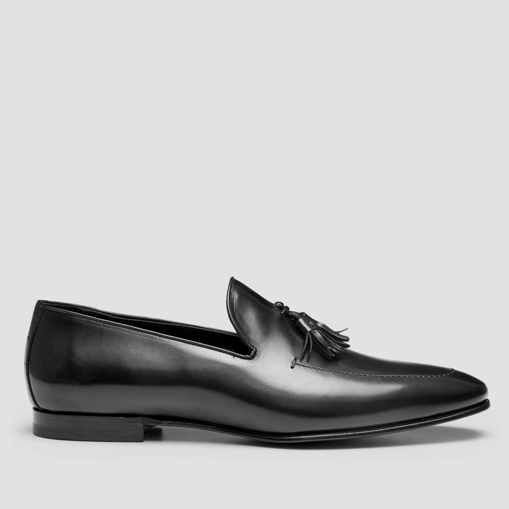 Webber Black Loafers