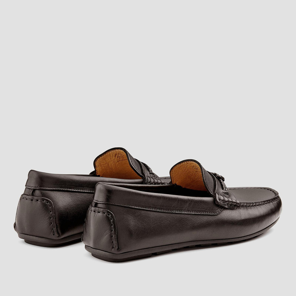 Bassett Brown Moccasins