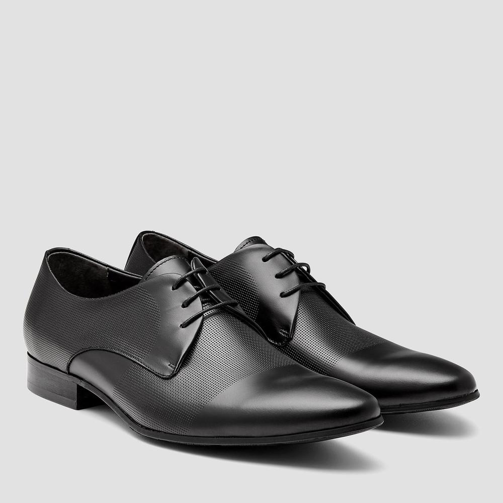 Brad Black Lace Up Shoes