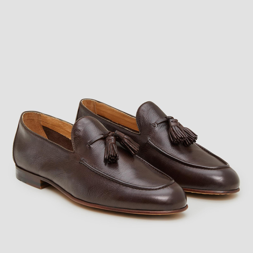 Basso Brown Loafers