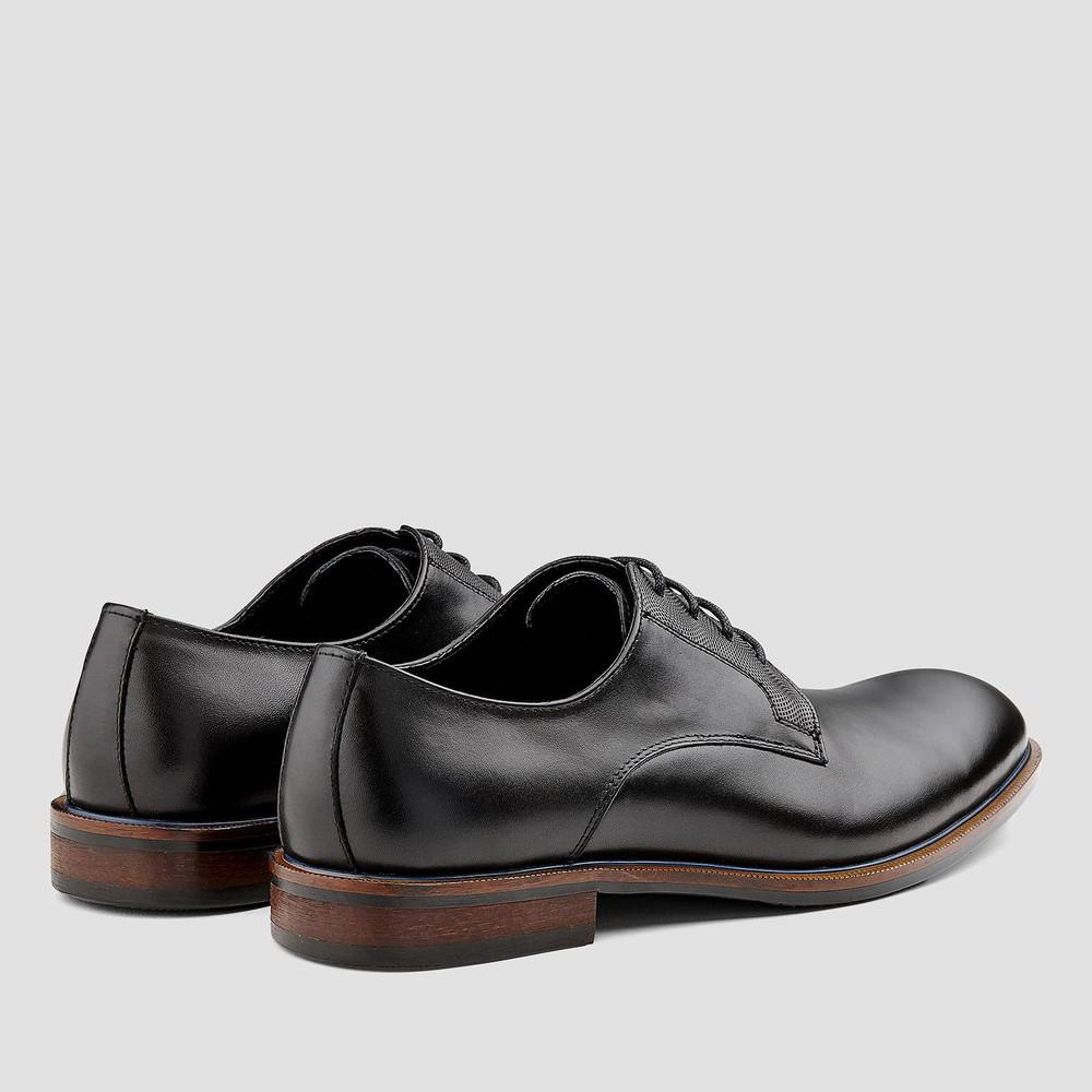 Atlanta Black Lace Up Shoes