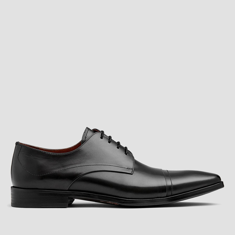 Cartwright Black Derby Shoes