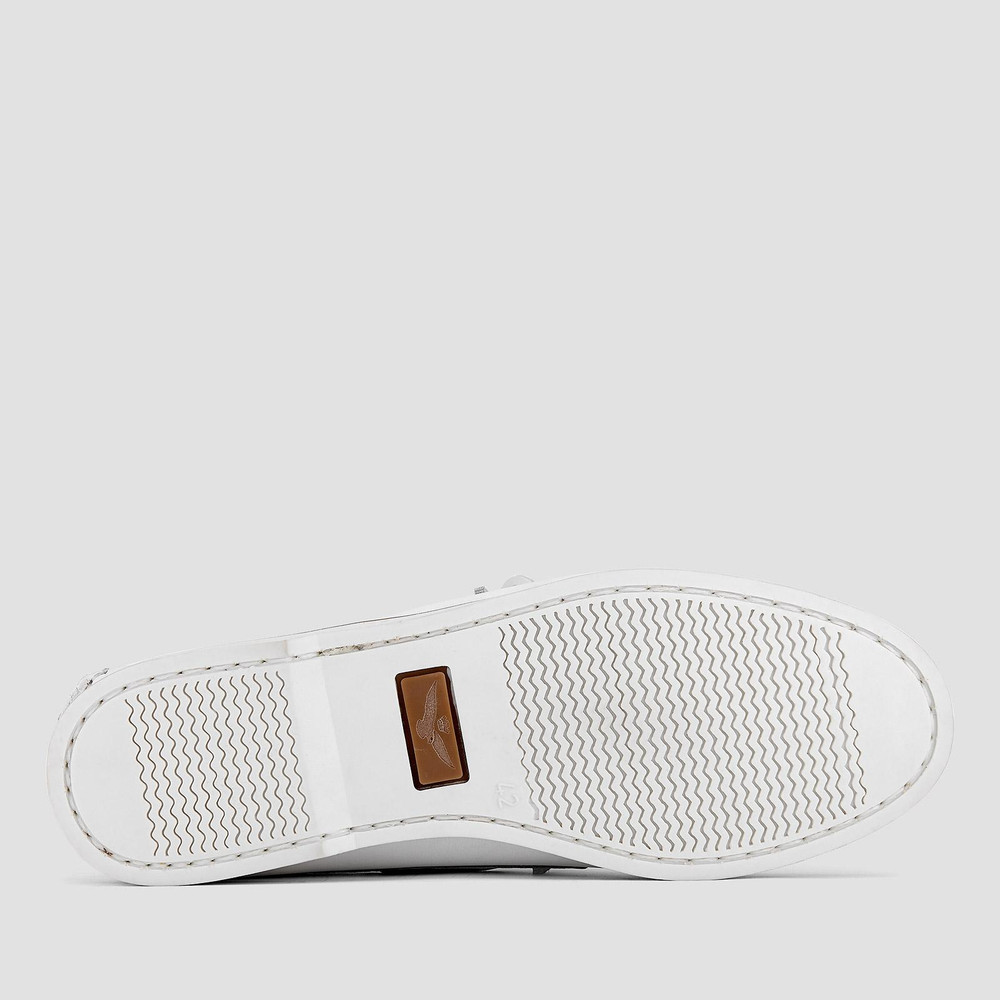 Bagley White Boat Shoes