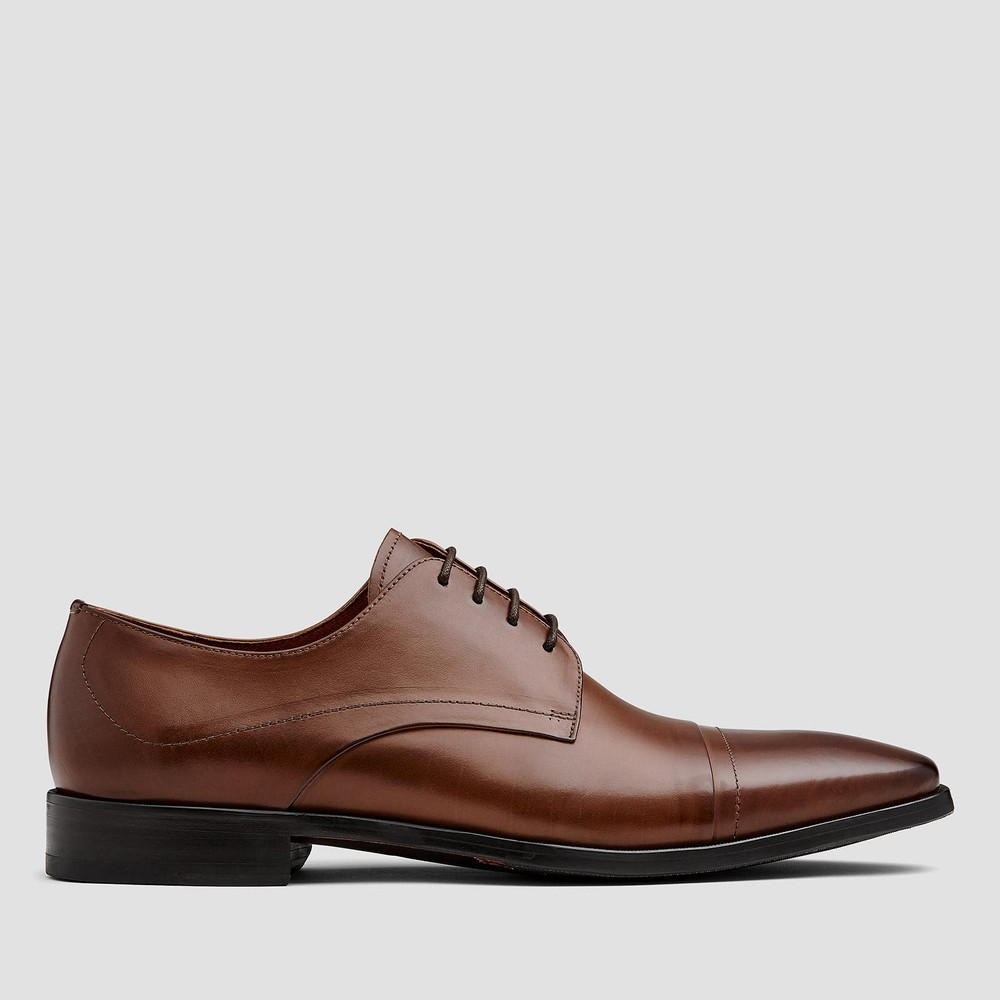 Cartwright Tan Derby Shoes