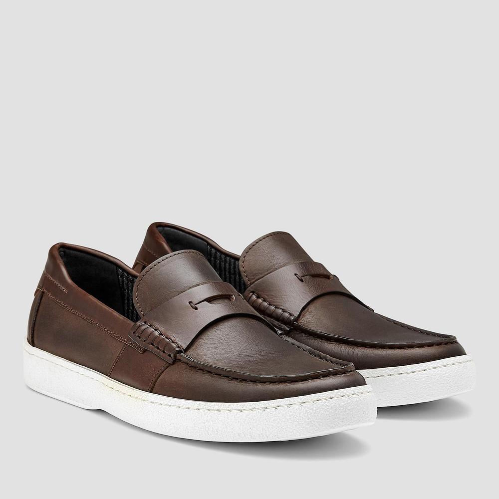Bridger Brown Slip On Shoes