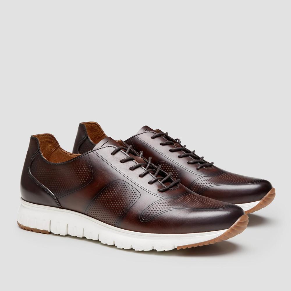 Blain Coffee Sneakers