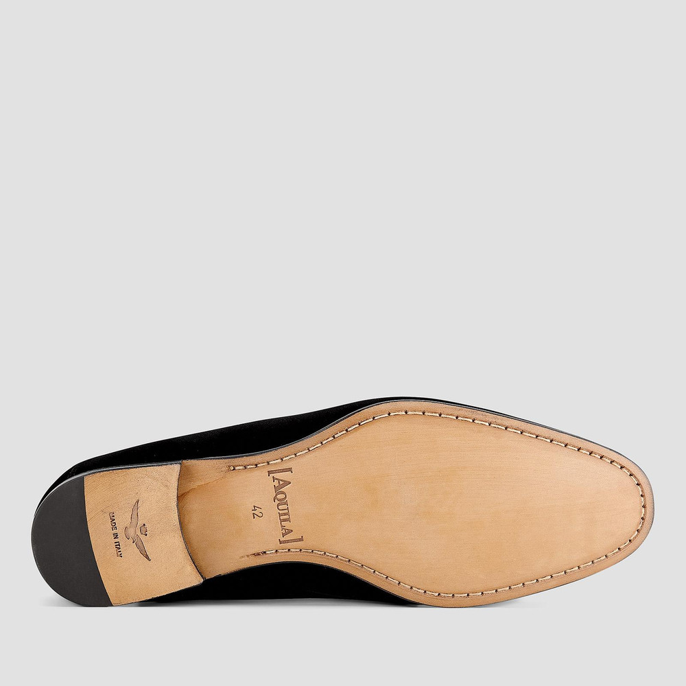 Franz Navy Loafers