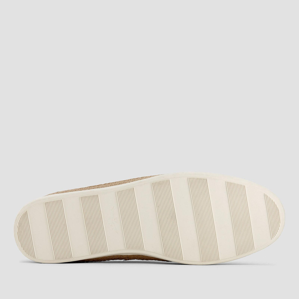 Delmont Denim Stripe Espadrilles