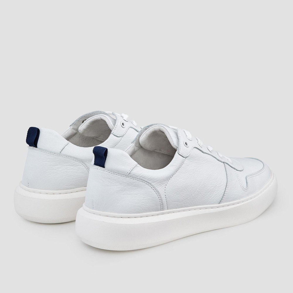 Faust White Sneakers
