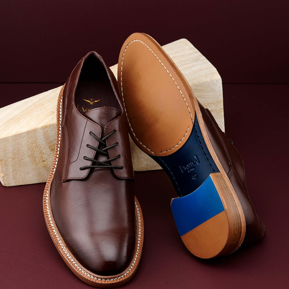 Goswell Brown Lace Up Shoes