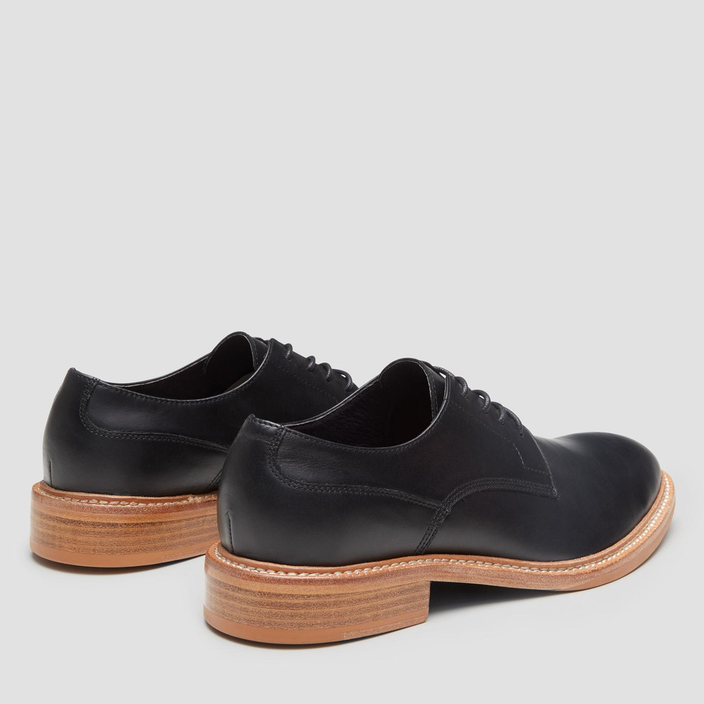 Goswell Black Lace Up Shoes