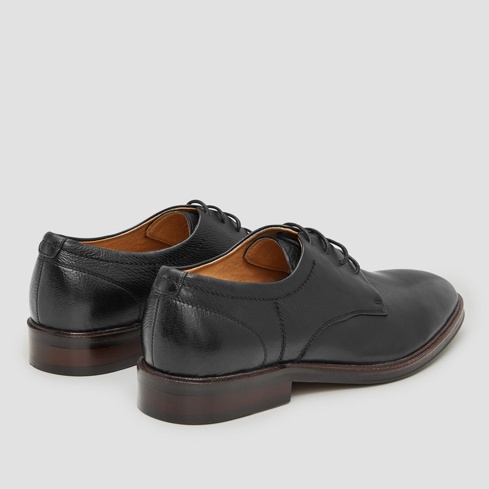Costello Black Lace Up Shoes