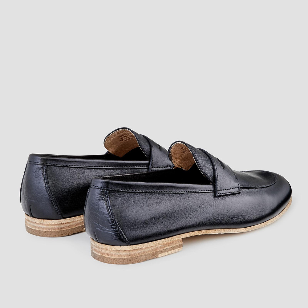 Fico Black Loafers