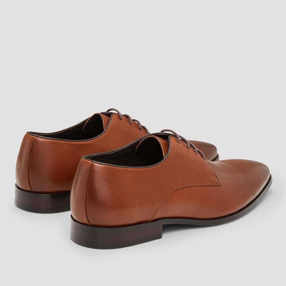 Grayson Tan Derby Shoes